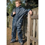 Waterproof 2 piece Rainsuit - Navy
