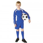 Venom Royal/White Football Kit - 7-8yrs