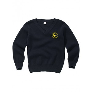 Navy Jumper with Swallowfield Logo